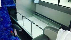バスの車内トランク
